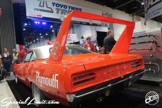 SEMA Show 2014 Las Vegas Convention Center dc601 Special Limit PLYMOUTH Superbird
