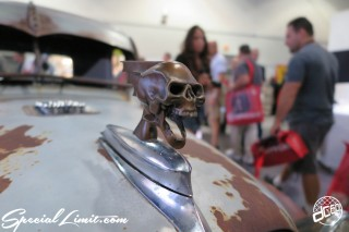 SEMA Show 2014 Las Vegas Convention Center dc601 Special Limit Skull Bonnet Mascot