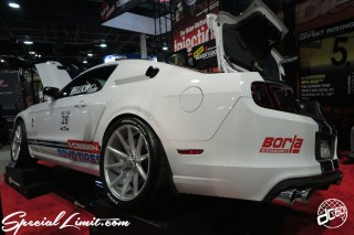 SEMA Show 2014 Las Vegas Convention Center dc601 Special Limit FORD MUSTANG Borla EXHAUST