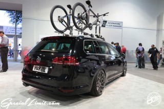 SEMA Show 2014 Las Vegas Convention Center dc601 Special Limit H&R Volkswagen Golf Valiant