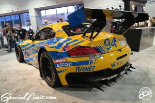 SEMA Show 2014 Las Vegas Convention Center dc601 Special Limit BMW Z4 Wide Body H&R