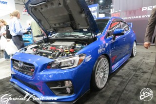 SEMA Show 2014 Las Vegas Convention Center dc601 Special Limit SUBARU STi WRX