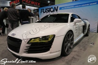 SEMA Show 2014 Las Vegas Convention Center dc601 Special Limit Audi R8 FUSION