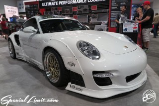 SEMA Show 2014 Las Vegas Convention Center dc601 Special Limit PORSCHE 911 LIBERTY WALK Wide Body Kit