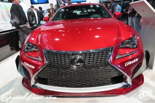 SEMA Show 2014 Las Vegas Convention Center dc601 Special Limit LEXUS RC-F Rocket Bunny Wide Body