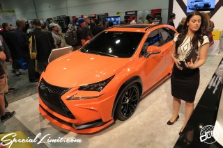 SEMA Show 2014 Las Vegas Convention Center dc601 Special Limit LEXUS NX