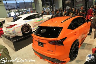 SEMA Show 2014 Las Vegas Convention Center dc601 Special Limit LEXUS NX RC