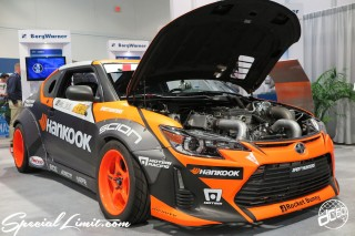 Was held in Las Vegas Convention Center, It is the state of the SEMA Show ♪SCION tc Rocket Bunny Wide body Hankook
