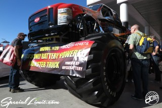 SEMA Show 2014 Las Vegas Convention Center dc601 Special Limit MONSTER TRUCK
