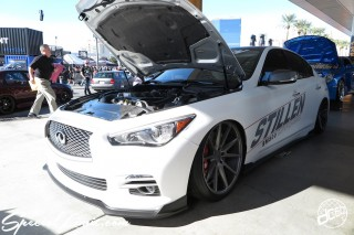 SEMA Show 2014 Las Vegas Convention Center dc601 Special Limit STILLEN INFINITI