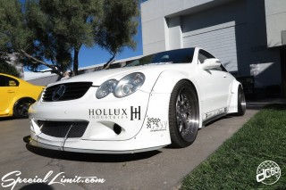 SEMA Show 2014 Las Vegas Convention Center dc601 Special Limit Mercedes Benz HOLLUX CLK Wide Body