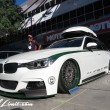 SEMA Show 2014 Las Vegas Convention Center dc601 Special Limit BMW F30 Touring Hitch Carrier BMW Motorcycle HRE