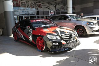 SEMA Show 2014 Las Vegas Convention Center dc601 Special Limit Mercedes Benz E