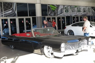 SEMA Show 2014 Las Vegas Convention Center dc601 Special Limit Cadillac DEVIL