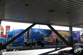 SEMA Show 2014 Las Vegas Convention Center dc601 Special Limit LOWRIDER Mag.