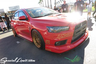 SEMA Show 2014 Las Vegas Convention Center dc601 Special Limit MITSUBISHI Lancer Evo.