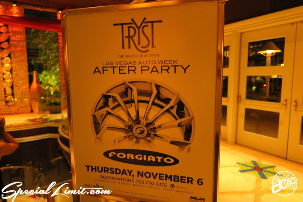 SEMA Show 2014 Part13 〜FORGIATO PARTY in TRYST〜 ☆
