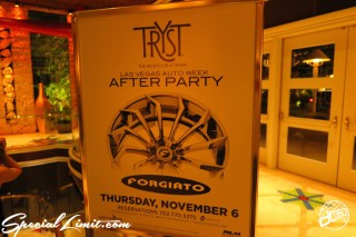SEMA Show 2014 Las Vegas Convention Center dc601 Special Limit AUTO WEEK AFTER PARTY FORGIATO TRYST NIGHTCLUB WYNN