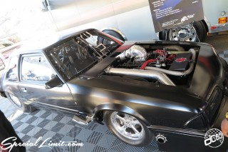 SEMA Show 2014 Las Vegas Convention Center dc601 Special Limit FORD MUSTANG Drag Machine