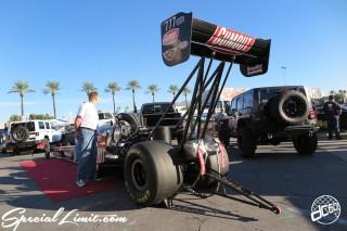SEMA Show 2014 Las Vegas Convention Center dc601 Special Limit GUMOUT DRAG Machine