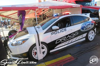 SEMA Show 2014 Las Vegas Convention Center dc601 Special Limit FORD FIESTA POLICE DRAGG