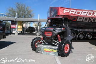 SEMA Show 2014 Las Vegas Convention Center dc601 Special Limit POLARIS High Lifter