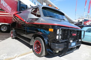 SEMA Show 2014 Las Vegas Convention Center dc601 Special Limit GMC SAFARI