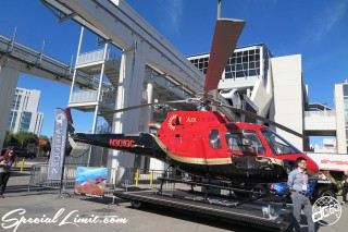 SEMA Show 2014 Las Vegas Convention Center dc601 Special Limit Helicopter