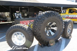 SEMA Show 2014 Las Vegas Convention Center dc601 Special Limit MICKEY THOMPSON Tire