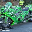 SEMA Show 2014 Las Vegas Convention Center dc601 Special Limit DUB KAWASAKI NINJA