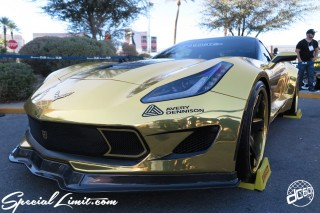 SEMA Show 2014 Las Vegas Convention Center dc601 Special Limit CHEVROLET CORVETTE C7 Wide Body FORGIATO AVERY DENNISON