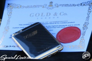 SEMA Show 2014 Las Vegas Convention Center dc601 Special Limit Gold & Co. Handy Phone