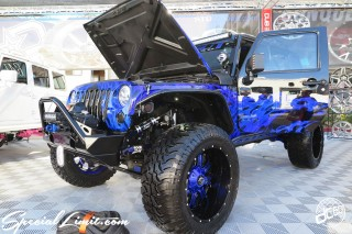 SEMA Show 2014 Las Vegas Convention Center dc601 Special Limit CHRYSLER JEEP Wrangler Unlimited DUB