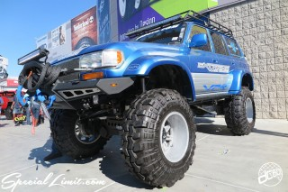 SEMA Show 2014 Las Vegas Convention Center dc601 Special Limit TOYOTA Land Cruiser 80