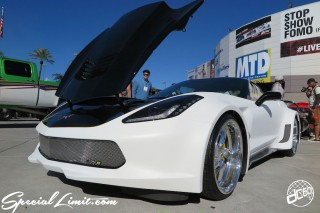 SEMA Show 2014 Las Vegas Convention Center dc601 Special Limit CHEVROLET Corvette Raceline C7 Wide Body