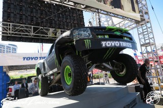 SEMA Show 2014 Las Vegas Convention Center dc601 Special Limit TOYO TIRES MONSTER ENERGY CHEVROLET Truck