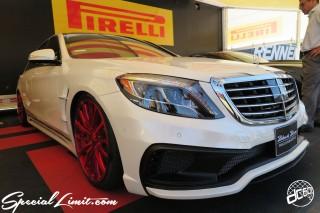 SEMA Show 2014 Las Vegas Convention Center dc601 Special Limit PIRELLI Mercedes Benz Black Bison WALD