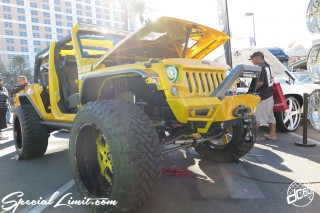 SEMA Show 2014 Las Vegas Convention Center dc601 Special Limit AMANI FORGED CHERYSLER JEEP Wrangler Unlimited