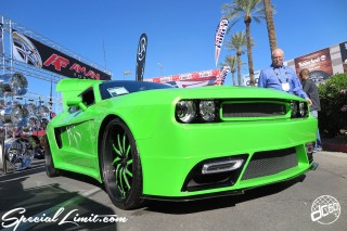 SEMA Show 2014 Las Vegas Convention Center dc601 Special Limit AMANI FORGED DODGE CHALLENGER