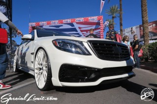 SEMA Show 2014 Las Vegas Convention Center dc601 Special Limit AMANI FORGED Mercedes Benz