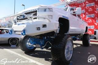SEMA Show 2014 Las Vegas Convention Center dc601 Special Limit AMERICAN FORCE Wheels CHEVROLET Truck High Lift