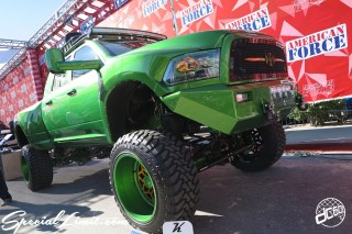SEMA Show 2014 Las Vegas Convention Center dc601 Special Limit AMERICAN FORCE Wheels DODGE RAM
