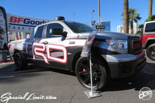 SEMA Show 2014 Las Vegas Convention Center dc601 Special Limit TOYOTA TUNDRA TRD