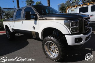 SEMA Show 2014 Las Vegas Convention Center dc601 Special Limit FORD F350