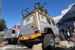 SEMA Show 2014 Las Vegas Convention Center dc601 Special Limit Mercedes Benz G500 LeTech USA