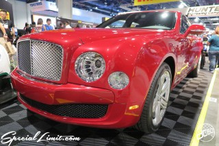 SEMA Show 2014 Las Vegas Convention Center dc601 Special Limit Mulsanne Bentley