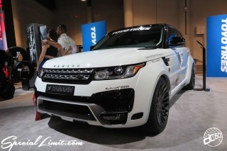SEMA Show 2014 Las Vegas Convention Center dc601 Special Limit HAMANN RANGE ROVER