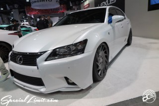 SEMA Show 2014 Las Vegas Convention Center dc601 Special Limit LEXUS GS VOSSEN