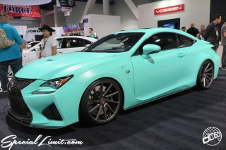 SEMA Show 2014 Las Vegas Convention Center dc601 Special Limit LEXUS RC-F VOSSEN
