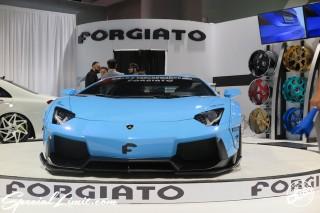 SEMA Show 2014 Las Vegas Convention Center dc601 Special Limit FORFIATO Lamborghini Aventador LB Performance Wide body
